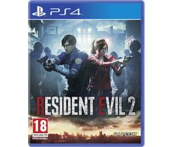 PS4 Resident Evil 2 Best Price, Cheapest Prices