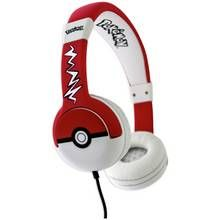 Pokemon Pokeball Kids On-Ear Headphones - Black / Red Best Price, Cheapest Prices