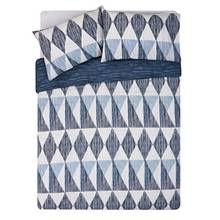 HOME Scratch Geo Bedding Set - Kingsize Best Price, Cheapest Prices