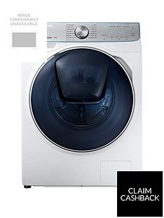 Samsung Ww90M741Nor/Eu 9Kg Load, 1400 Spin Quickdrive&Trade; Washing Machine With Addwash&Trade; - White Best Price, Cheapest Prices