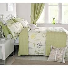 Dreams N Drapes Botanique Green Duvet Cover - Super King Best Price, Cheapest Prices