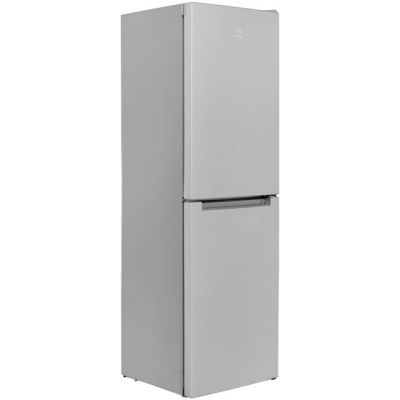 Indesit LD85F1S.1 50/50 Frost Free Fridge Freezer - Silver - A+ Rated Best Price, Cheapest Prices