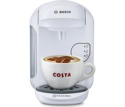 TASSIMO by Bosch Vivy2 TAS1404GB Hot Drinks Machine - White Best Price, Cheapest Prices