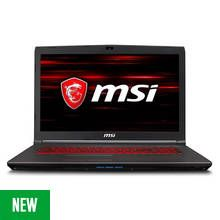 MSI GV72 17Inch i7 8GB 128GB GTX1050Ti Gaming Laptop - Black Best Price, Cheapest Prices
