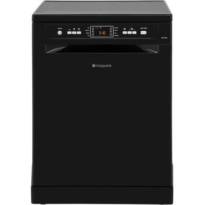 Hotpoint Extra FDFEX11011K Standard Dishwasher - Black - A+ Rated Best Price, Cheapest Prices