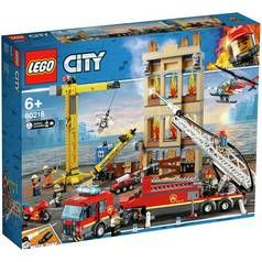 LEGO City Fire Downtown Fire Brigade Building Set - 60216 Best Price, Cheapest Prices