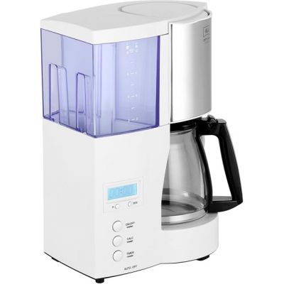 Melitta Optima Timer 6613655 Filter Coffee Machine with Timer - White Best Price, Cheapest Prices