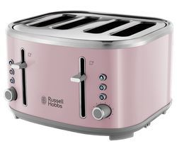 RUSSELL HOBBS Bubble 24412 4-Slice Toaster - Pink Best Price, Cheapest Prices