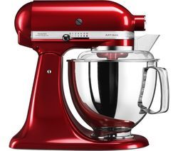 KITCHENAID Artisan 5KSM175PSBCA Stand Mixer - Candy Apple Best Price, Cheapest Prices
