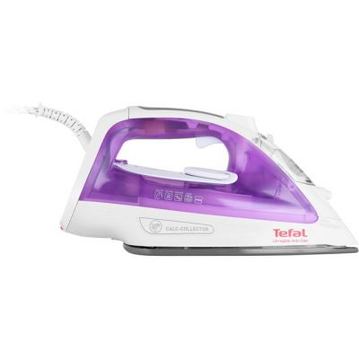 Tefal Ultraglide Anti Scale FV2661 2400 Watt Iron -Purple / White Best Price, Cheapest Prices