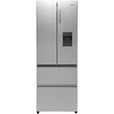 Haier HB16WMAA American Fridge Freezer - Stainless Steel Effect - A+ Rated Best Price, Cheapest Prices