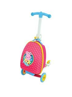 Peppa Pig Scootin' Suitcase Best Price, Cheapest Prices