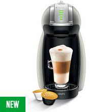 Nescafe Dolce Gusto Krups Genio II Pod Coffee Machine - Grey Best Price, Cheapest Prices