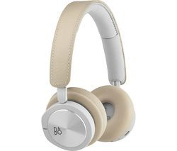 BANG & OLUFSEN H8i Wireless Bluetooth Noise-Cancelling Headphones - Natural Best Price, Cheapest Prices