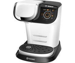 TASSIMO by Bosch My Way TAS6004GB Coffee Machine - White Best Price, Cheapest Prices