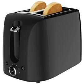Cookworks 2 Slice Toaster - Black Best Price, Cheapest Prices