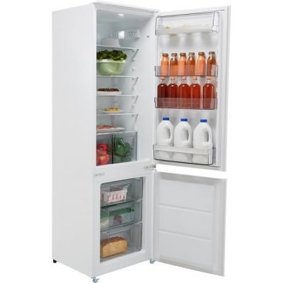 AEG SCB6181XLS Integrated 70/30 Fridge Freezer with Sliding Door Fixing Kit - White - A+ Rated Best Price, Cheapest Prices