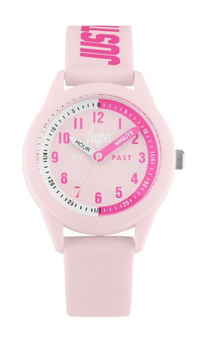 Hype Kids Pale Pink Silicone Strap Watch Best Price, Cheapest Prices