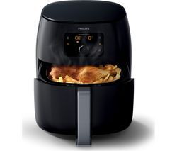 PHILIPS Viva Collection XXL HD9650/99 Air Fryer - Black Best Price, Cheapest Prices