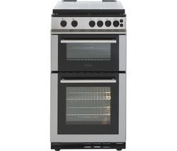 BELLING FS50GTCL Gas Cooker - Stainless Steel Best Price, Cheapest Prices