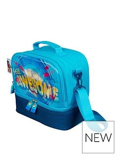 LEGO Movie Lego Movie 2 Compartment Lenticular Lunchbag -Blue Best Price, Cheapest Prices