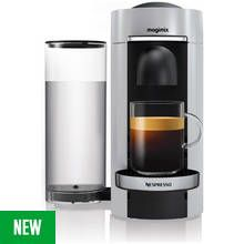 Nespresso by Magimix Vertuo Plus Pod Coffee Machine - Silver Best Price, Cheapest Prices