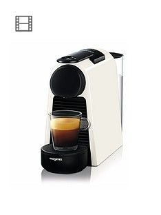 Nespresso Essenza Mini Coffee Machine by Magimix - Pure White Best Price, Cheapest Prices