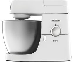 KENWOOD Premier Chef XL KVL4100W Stand Mixer - White Best Price, Cheapest Prices