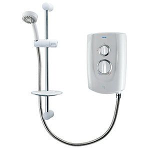 Triton T5 Electric Shower - White 9.5kW Best Price, Cheapest Prices