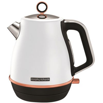 Morphy Richards Evoke Special Edition 104415 Kettle - White / Rose Gold Best Price, Cheapest Prices