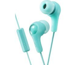 JVC HA-FX7M Gumy Plus Headphones – Mint Green Best Price, Cheapest Prices