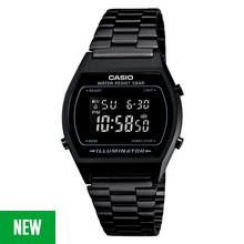 Casio Ladies' Digital Black Stainless Steel Bracelet Watch Best Price, Cheapest Prices