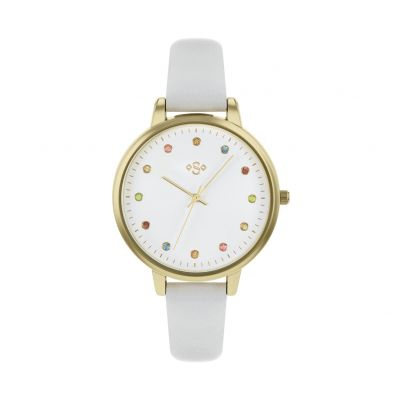 Spirit Ladies Lilac Leather-Effect Strap Watch Best Price, Cheapest Prices