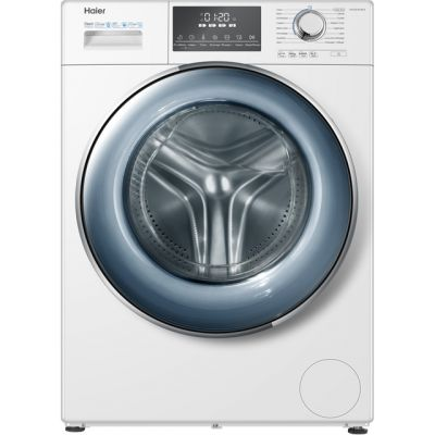 Haier HW120-B14876 12Kg Washing Machine with 1400 rpm - White - A+++ Rated Best Price, Cheapest Prices
