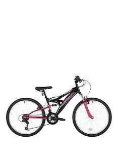 Flite Taser Dual Suspension Girls Bike 24 inch Wheel Best Price, Cheapest Prices