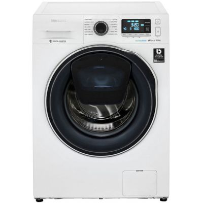 Samsung AddWash™ ecobubble™ WW90K6610QW 9Kg Washing Machine with 1600 rpm - White - A+++ Rated Best Price, Cheapest Prices