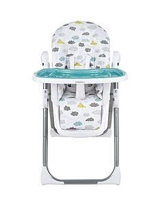Ladybird Highchair - Clouds Best Price, Cheapest Prices