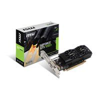 4GB MSI GTX 1050Ti 4GT LP GDDR5 Graphics Card, 768 Core, 1290 MHz GPU, 1392 MHz Boost, Low Profile Compatible Best Price, Cheapest Prices