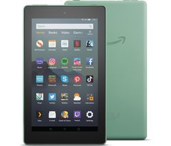 AMAZON Fire 7 Tablet with Alexa (2019) - 32 GB, Sage Best Price, Cheapest Prices