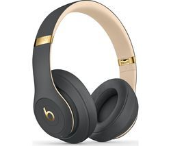 BEATS Studio 3 Wireless Bluetooth Noise-Cancelling Headphones - Shadow Grey Best Price, Cheapest Prices