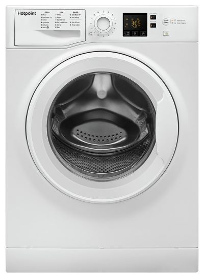 Hotpoint NSWM863CW 8KG 1600 Spin Washing Machine - White Best Price, Cheapest Prices