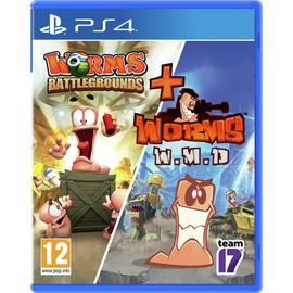 Worms Battleground & Worms W.M.D. PS4 Game Double Pack Best Price, Cheapest Prices
