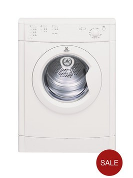 Indesit Ecotime IDV75 7kg Load Vented Tumble Dryer - White Best Price and Cheapest