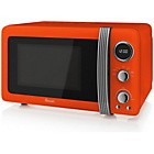 Swan SM22030ON Standard Microwave - Orange Best Price and Cheapest