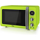 Swan SM22030 Standard Microwave - Lime Best Price and Cheapest