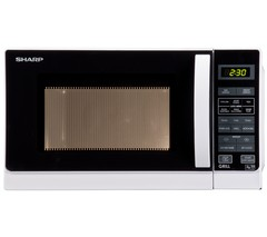 SHARP R662WM Microwave with Grill - White Best Price and Cheapest