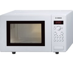 BOSCH HMT75M421B Solo Microwave - White Best Price and Cheapest