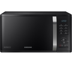 SAMSUNG MW3500K Heat Wave Microwave with Grill - Black Best Price and Cheapest