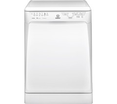 INDESIT Prime DFP27B10 Full-size Dishwasher - White Best Price and Cheapest