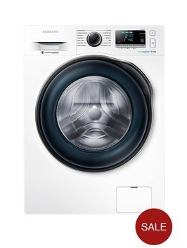 Samsung WW80J6410CW 8kg Load, 1400 Spin Washing Machine with ecobubble™ Technology - White Best Price and Cheapest